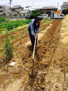 楽農くらぶ 土作りを体験