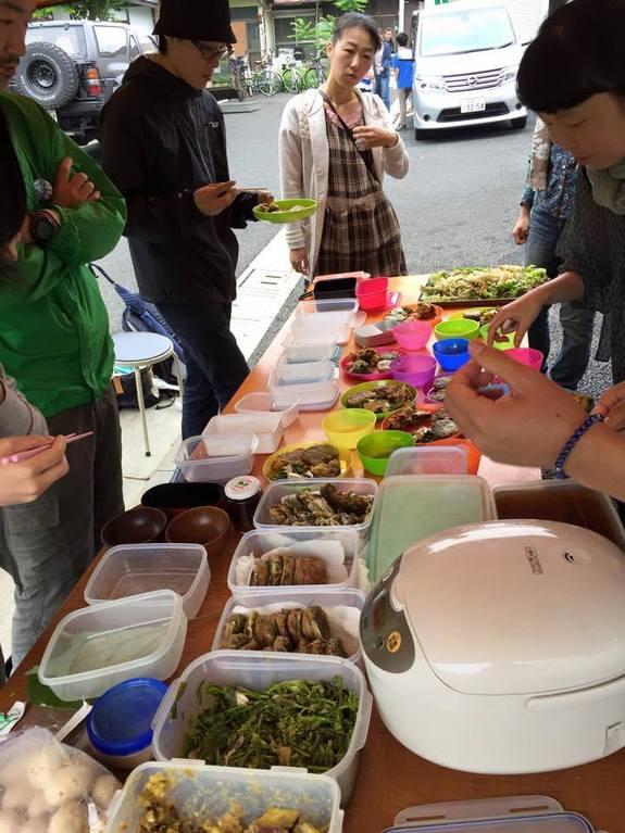 管理栄養士の山口さんによる野瀬さんの野菜たっぷりランチ