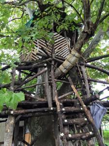 楽農くらぶ 森の中のツリーハウス
