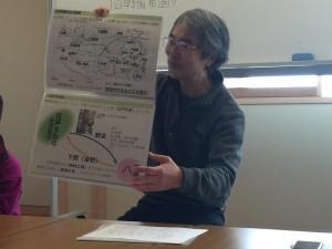 楽農くらぶ 武蔵野の文化に詳しい平田さん