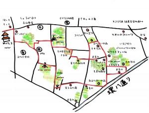 高松MAP赤ルート